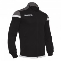 Спортивная куртка мужская Macron SOBEK FULL ZIP TOP Черный/Серый