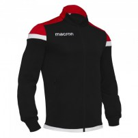 Спортивная куртка мужская Macron SOBEK FULL ZIP TOP Черный/Красный