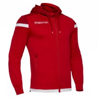 Спортивная куртка мужская Macron EADESY HOODY FULL ZIP TOP Красный