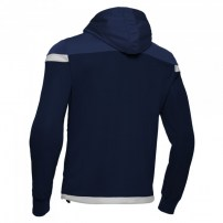 Спортивная куртка мужская Macron EADESY HOODY FULL ZIP TOP Темно-синий