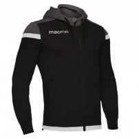Спортивная куртка мужская Macron EADESY HOODY FULL ZIP TOP Черный