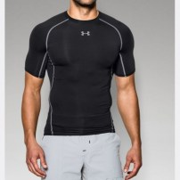Компрессионная футболка Under Armour HeatGear® Armour Short Sleeve Compression Shirt Black