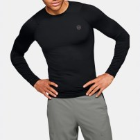 Компрессионная футболка Under Armour RUSH™ HeatGear® Compression Long Sleeve Black