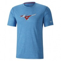 Футболка мужская Mizuno Impulse Core Graphic Tee Синий