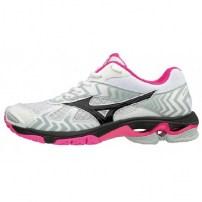 b2e6bb4a2897d8 Волейбольные кроссовки женские Mizuno WAVE BOLT 7 Белый/Черный/Розовый