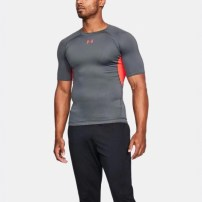 Компрессионная футболка Under Armour HeatGear® Armour Short Sleeve Compression Shirt Rhino Gray