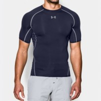 Компрессионная футболка Under Armour HeatGear® Armour Short Sleeve Compression Shirt Navy