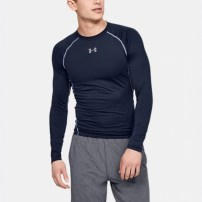 Компрессионная футболка Under Armour HeatGear® Armour Long Sleeve Compression Shirt Navy